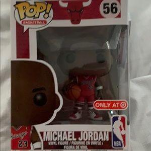 Pops Michael Jordan